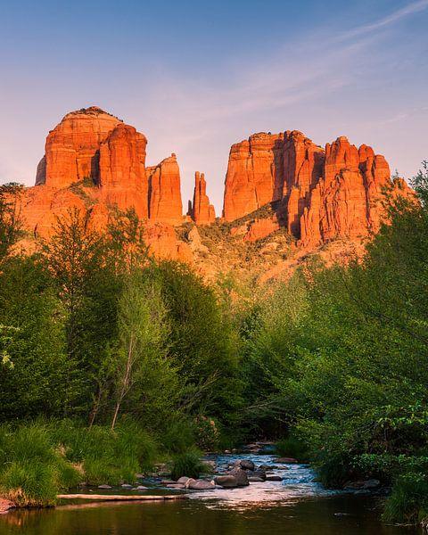 Cathedral Rock in Sedona, Arizona van Henk Meijer Photography