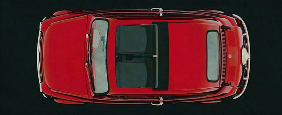 Fiat Abarth 595 1968 bovenaanzicht