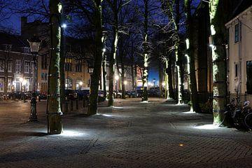 Trajectum Lumen kunstwerk Janslicht bij de Janskerk in Utrecht sur