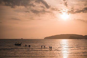 Thai Sonnenuntergang von