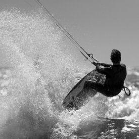 Kitesurfen van Reinier Snijders