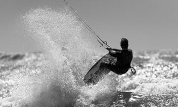 Kitesurfing sur