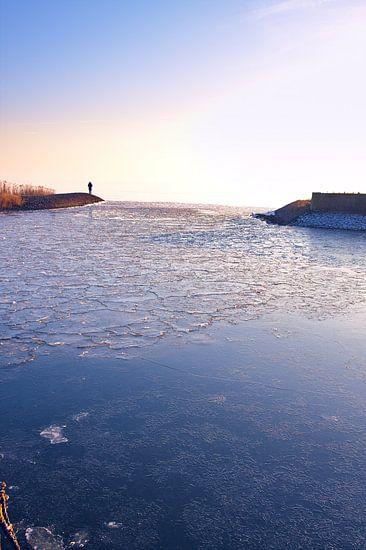 Bevroren haven van Jan Brons