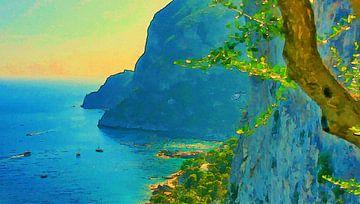 Italië Capri van Dirk van der Ven
