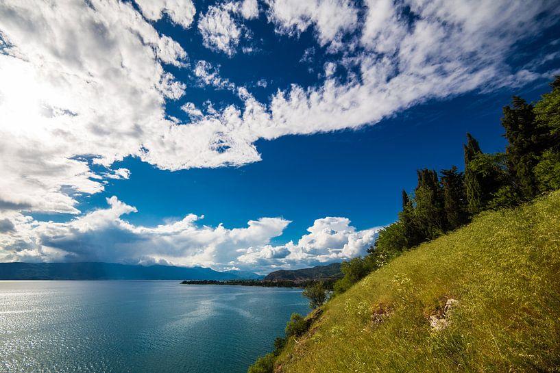 Meer van Ohrid van Thomas van der Willik