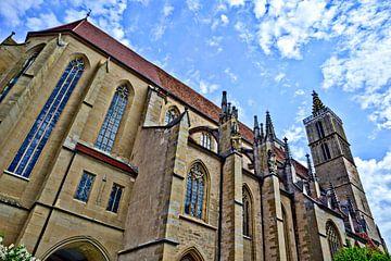 Cathédrale de Rothenburg ob der Tauber sur Roith Fotografie