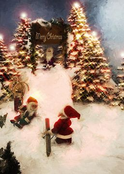 Merry Christmas von Dagmar Marina