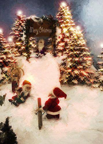 Merry Christmas van Dagmar Marina
