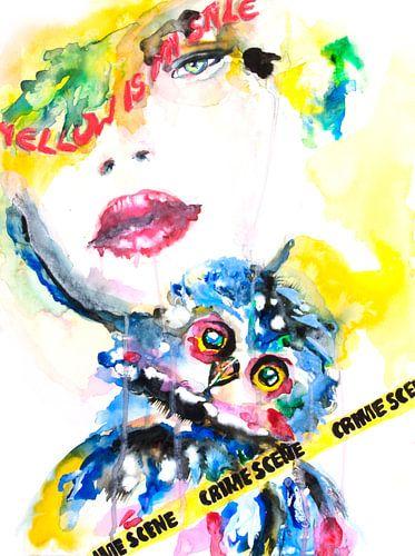 Crimescene van Yvonne Kok
