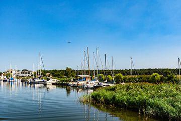 Haven van Moritzdorf / verschansing in Baabe op het eiland Rügen van GH Foto & Artdesign