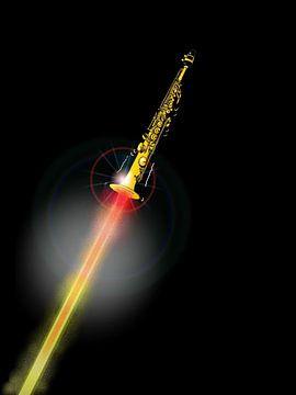 Sopraansax als een Raket - Sky High Soprano von Maarten Hartog