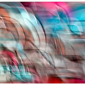 Movement in graffiti -10- van Henk Langerak