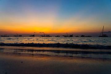 Zonsondergang Zanzibar