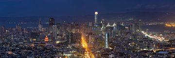 Skyline von San Francisco in Kalifornien in den USA von Markus Lange