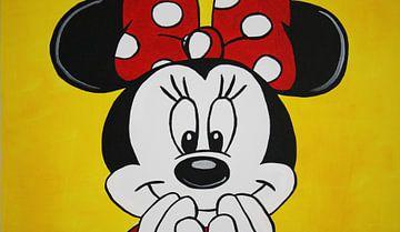 """Minnie Mouse """"Lächeln"""" von Kathleen Artist Fine Art"""
