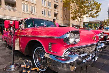 Cadillac Pink van
