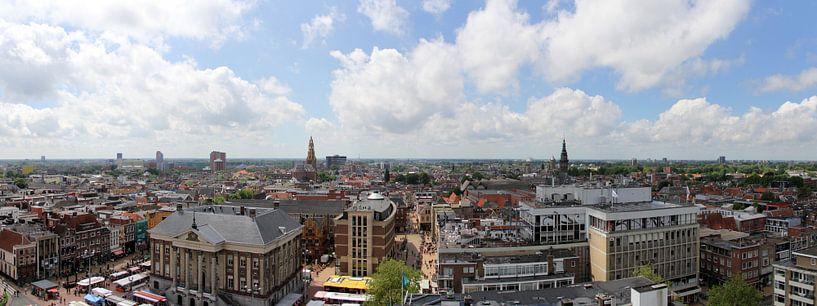 Panorama vanaf de Martinitoren van Sander de Jong
