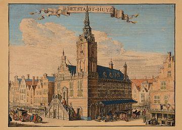Rotterdam, 1695, das Rathaus