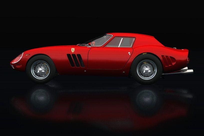 Ferrari 250 GTO Zijaanzicht van Jan Keteleer