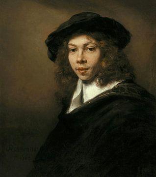 Jeune homme au béret noir, Rembrandt sur