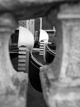 Gondoles à Venise sur Andreas Müller