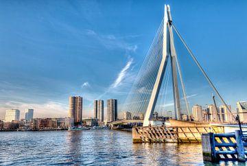 HDR Rotterdam ERasmusbrug van W J Kok
