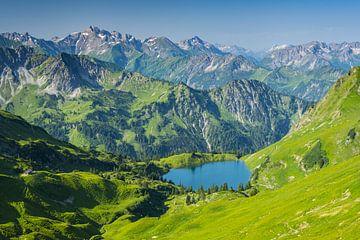 Seealpsee, Allgäu Alps van
