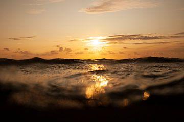 Sonnenuntergang Nordsee von Annelies Cranendonk
