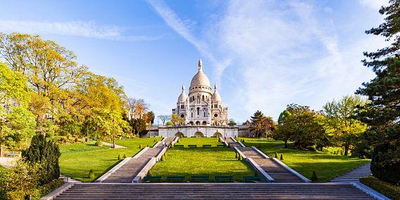 Sacré-Coeur op de Montmartre in Parijs