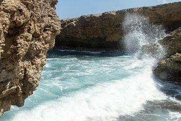 Curacao, ruige kust no. 4 von Arnoud Kunst