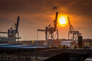 Port de Rotterdam sur Frank Bison