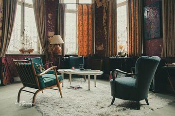 Zimmer in einem verlassenen Schloss von lotte .de Bruyn