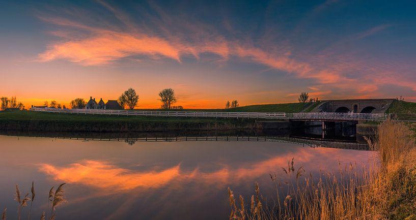 Aduarderzijl, Groningen, Netherlands van Henk Meijer Photography