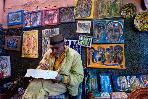 Schilder in Marrakesh