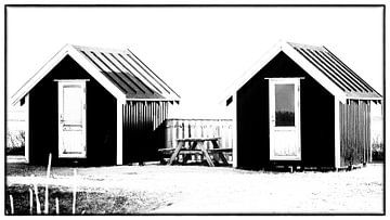 Kleine Hütten 6 von Kirsten Warner