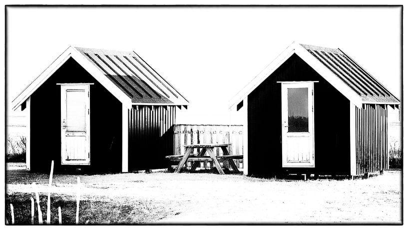 Kleine huisjes 6 van Kirsten Warner