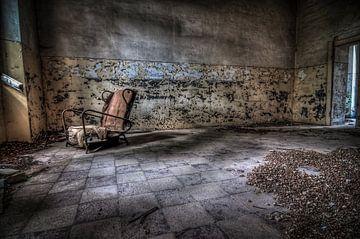 Alter Stuhl von Frans Scherpenisse