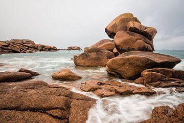 Atlantikküste in der Bretagne von Rico Ködder