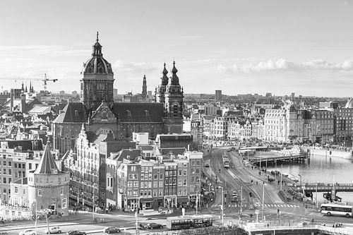 De Skyline van Amsterdam II van