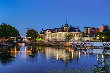 Een avondbeeld van de Rijksmunt in Utrecht stad, Nederland sur Arthur Puls Photography