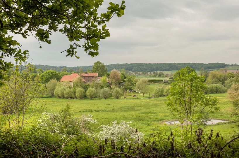 Geuldal in Zuid-Limburg van John Kreukniet