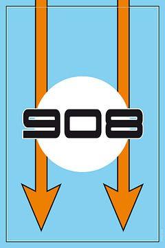 Porsche 908, racewagenontwerp van Theodor Decker