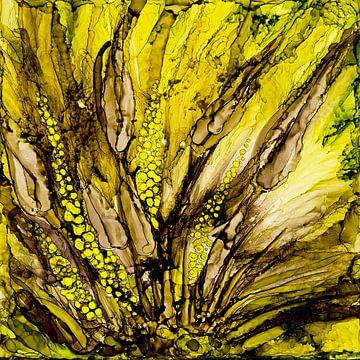 Wildes Gelb von Agnieszka Zietek
