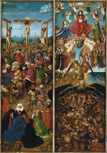Jan Van Eyck - Tweeluik van 1000 Schilderijen