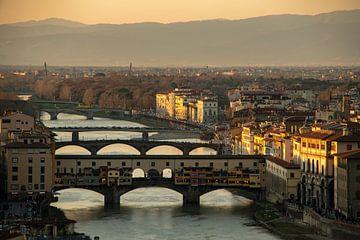 Ponte Vecchio van Fotografie door Menno