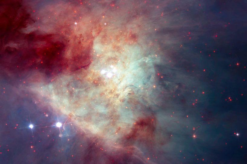 Behang Kinderkamer Ruimtevaart : Nebula van moondancer . op canvas behang en meer