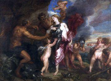 Venus in der Werkstatt des Vulkan - Antoon van Dyck, 1630-1632