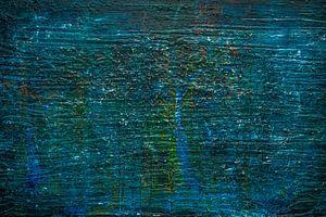 Blauw bos van Sander Veen