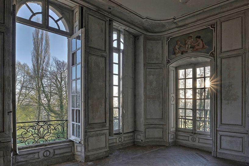 Prachtige kamer in verlaten Chateau von Kristel van de Laar