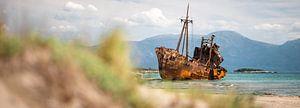 Shipwreck Dimitrios (Gythio, Griekenland) van Ektor Tsolodimos